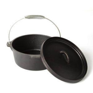 Lonac od lijevanog željeza od 3,6L, za kuhanje ili pečenje