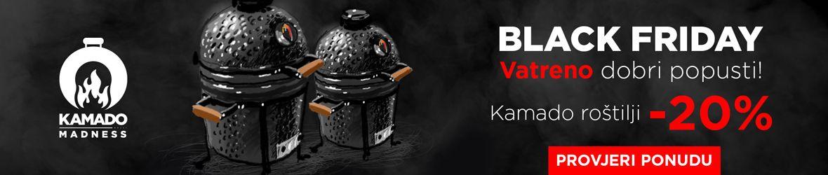 Kamado Madness Blackfriday - roštilji i dodatna oprema uz popust 20%